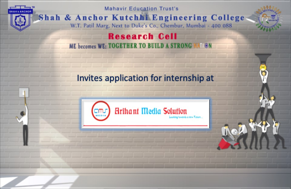 Internship at Arihant Media Solutions (AMS)