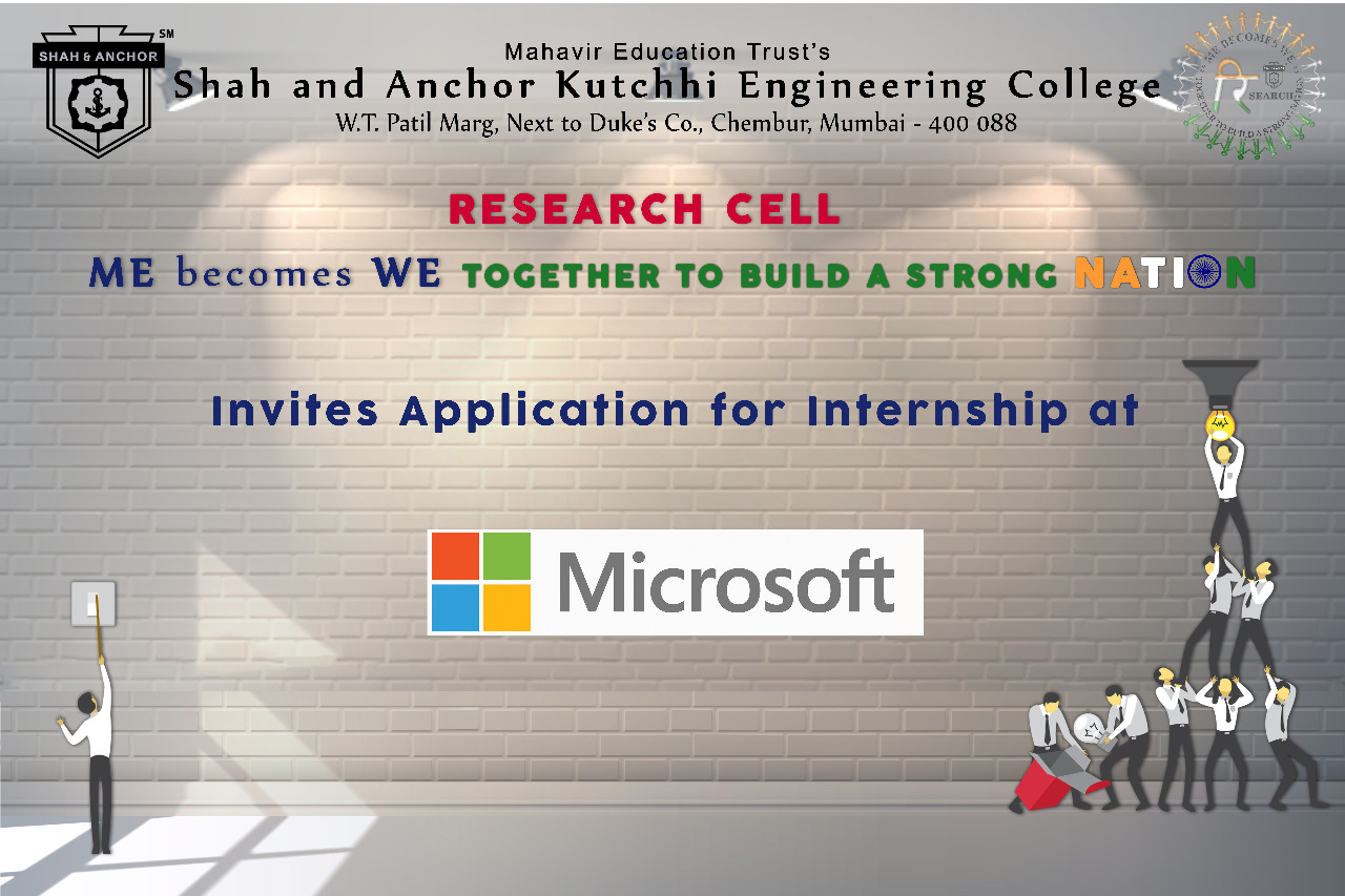 Internship opportunity at MICROSOFT
