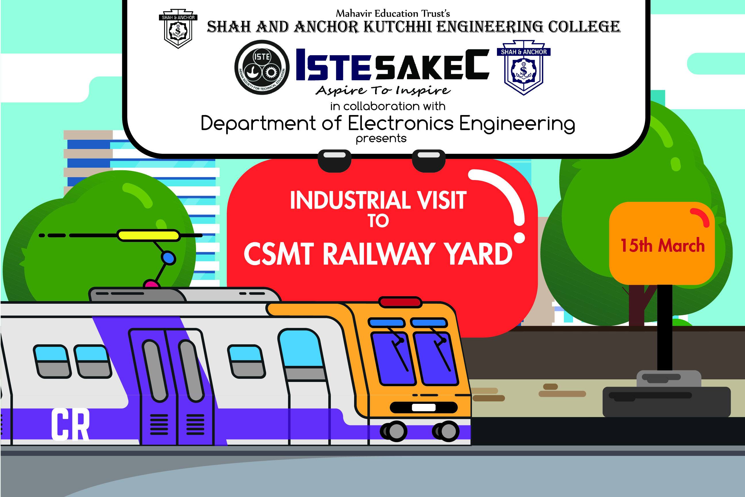 Industrial Visit to CSMT Railway Yard