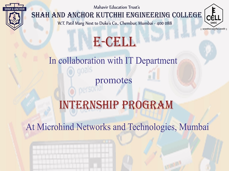 Internship opportunity at Microhind, Mumbai