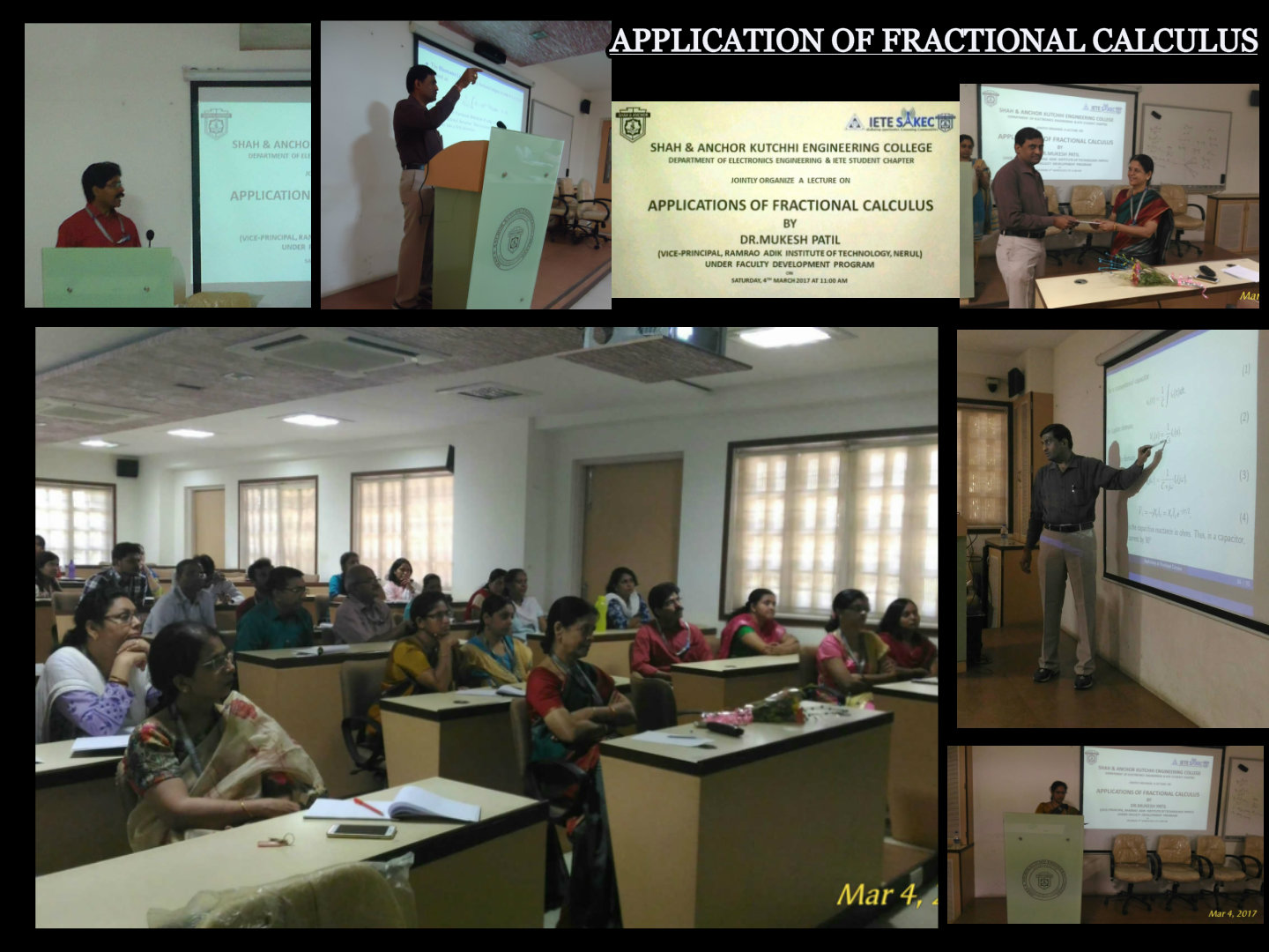 Application of Fractional Calculus