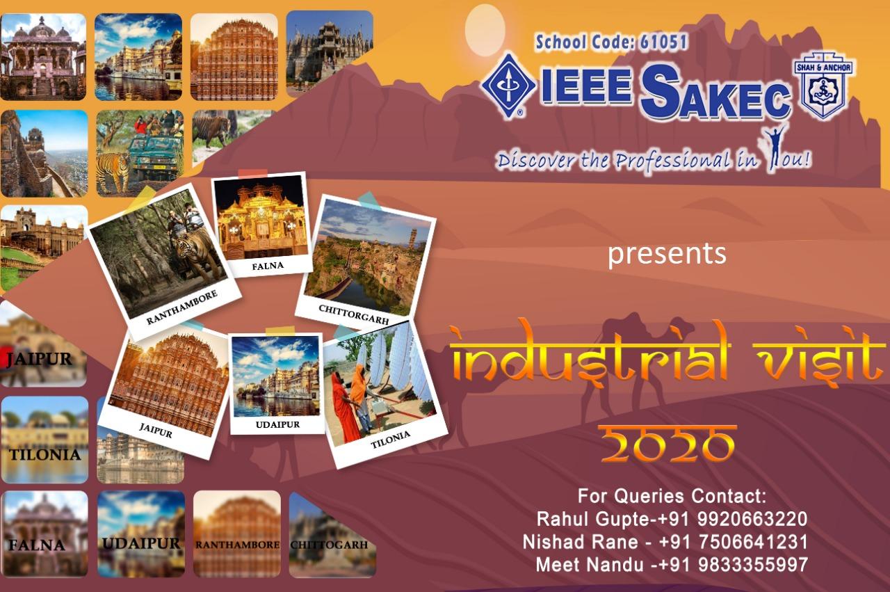 IEEE SAKEC INDUSTRIAL VISIT 2020