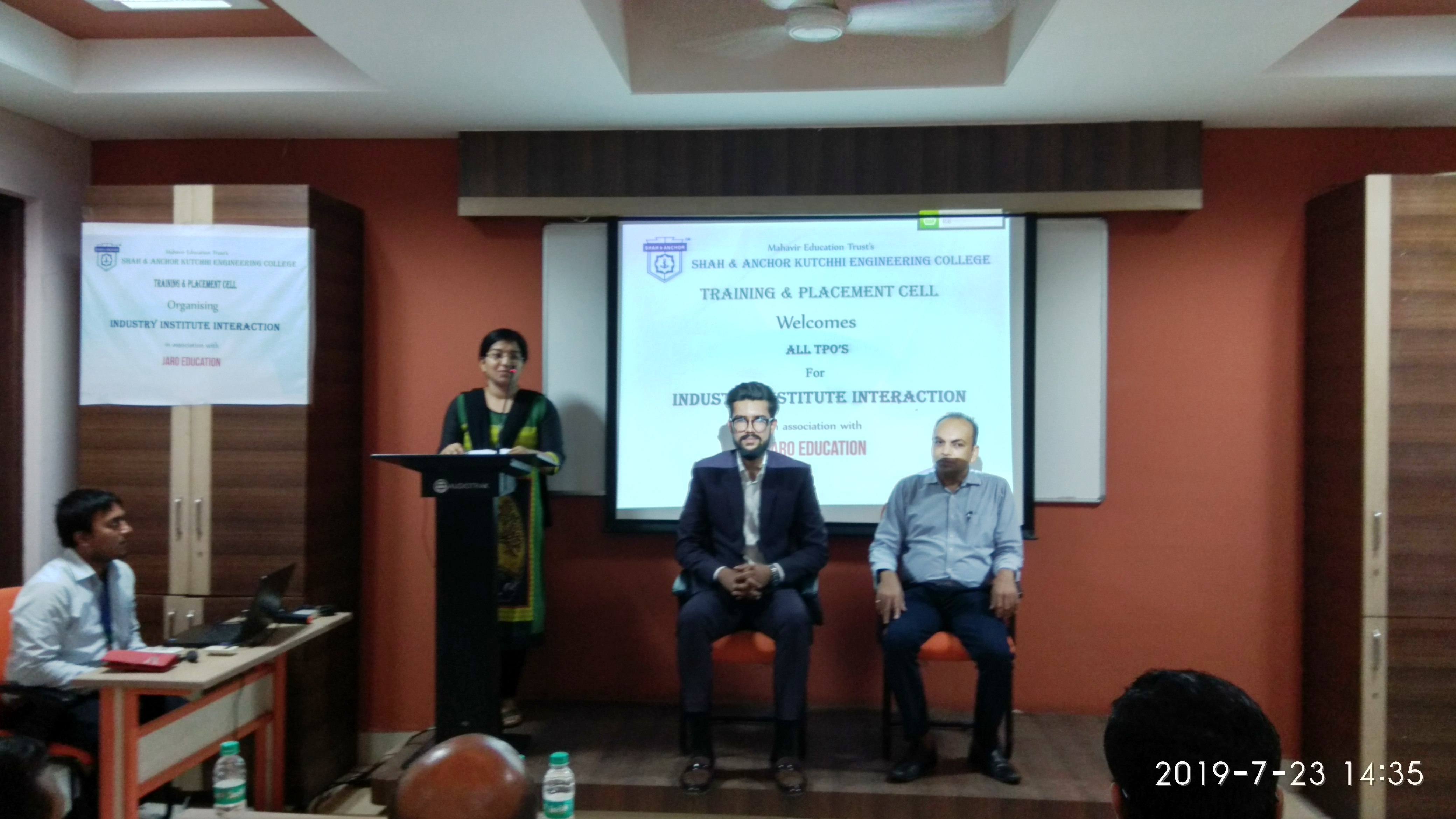 Industry Institute Interaction Session