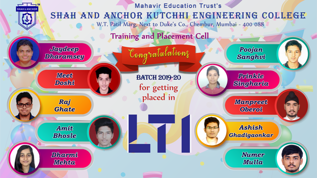 LTI Placed Students