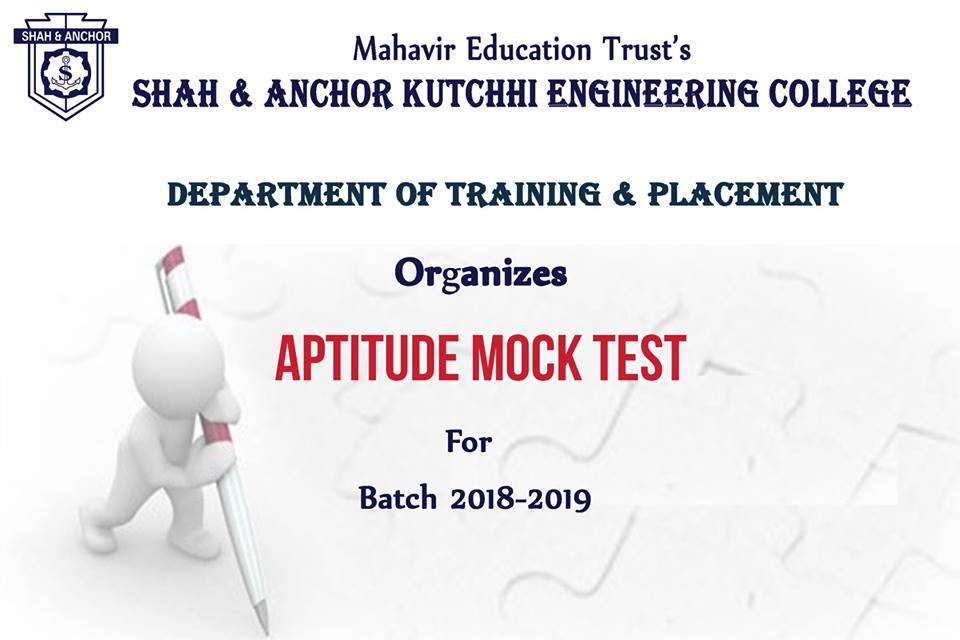 Placement Event 2018-19 - SAKEC-Shah & Anchor Kutchhi