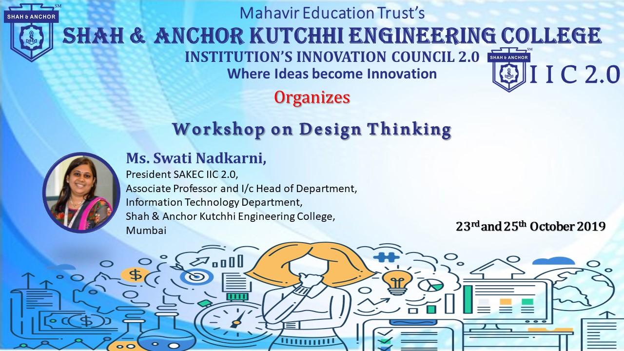 Workshop on Design Thinking