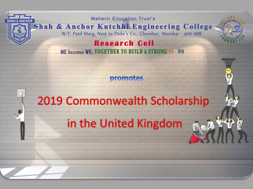 2019 Commonwealth Scholarship in the UK