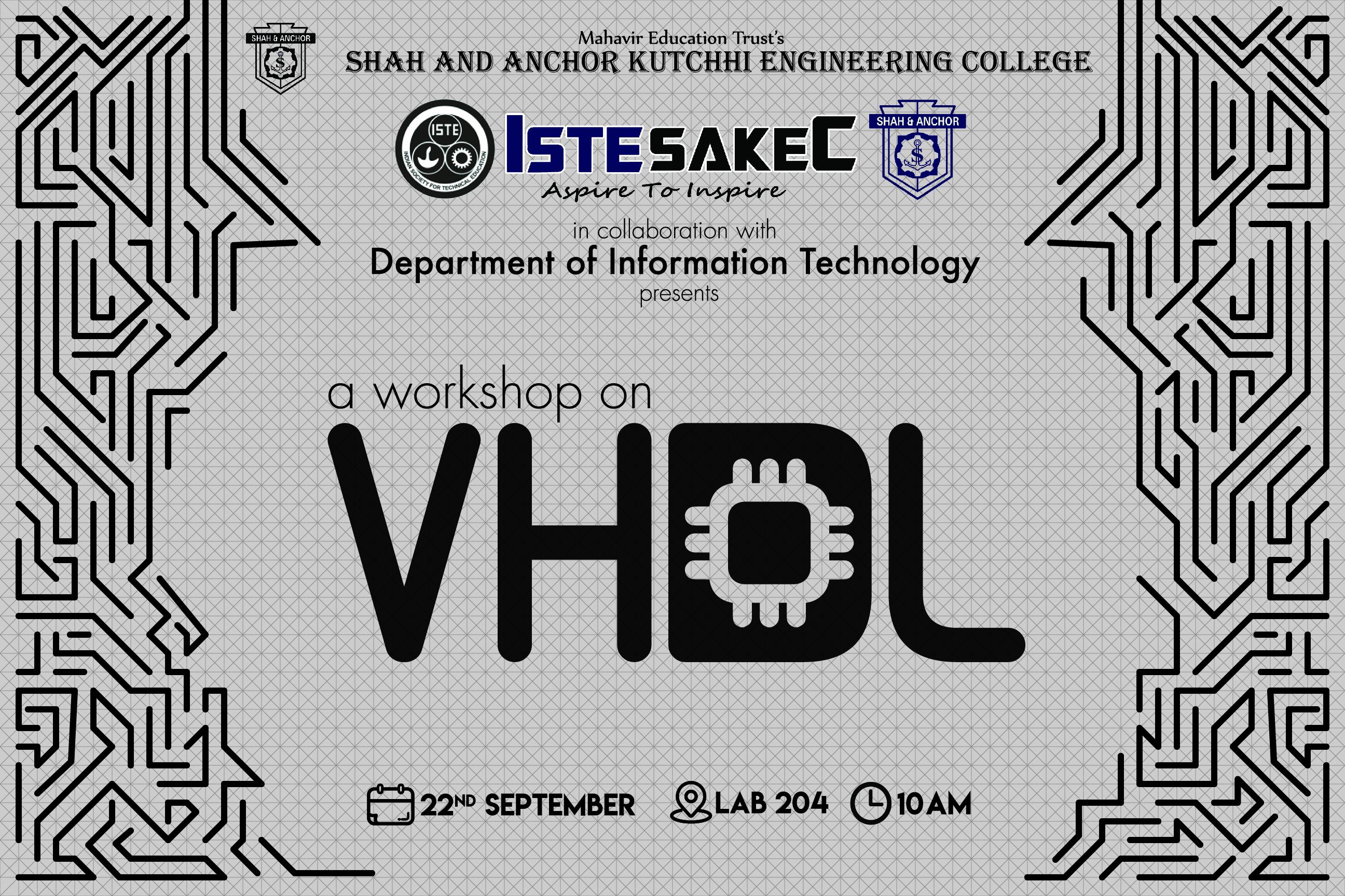 Workshop on VHDL