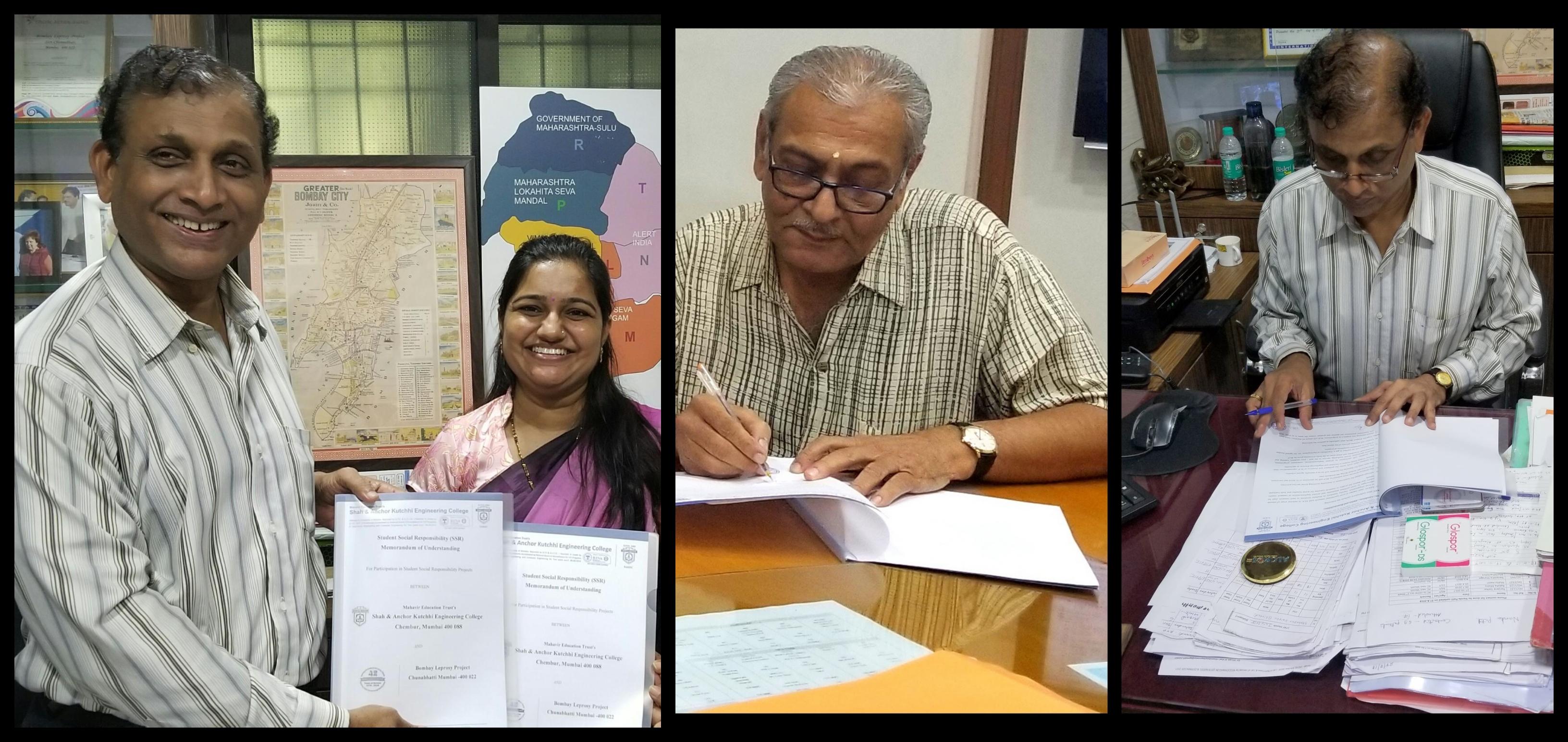 Bombay Leprosy Project MoU