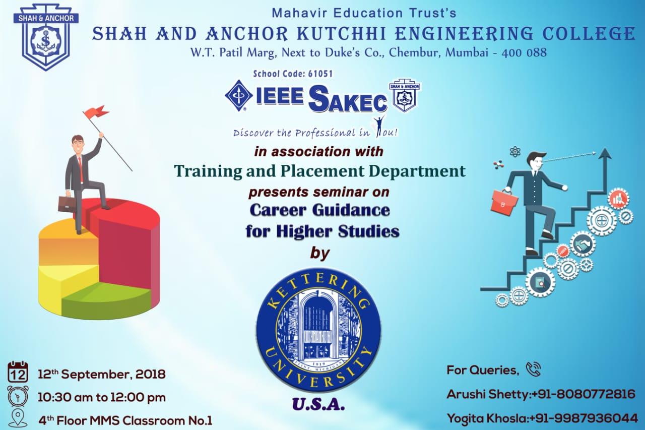 Career Guidance for Higher Studies