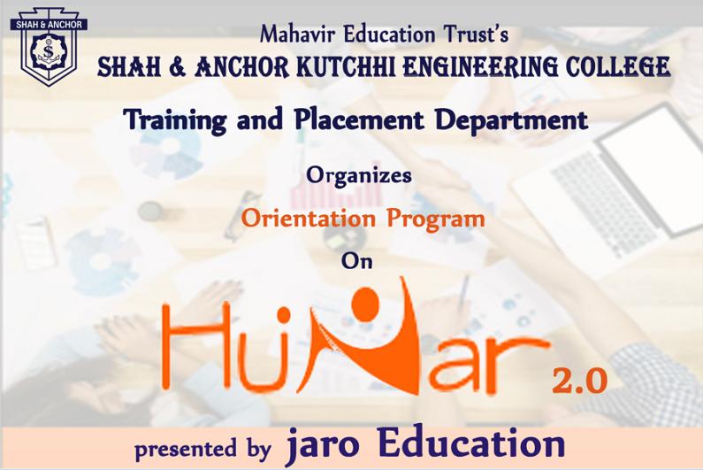 Hunar 2.0 Orientation Program