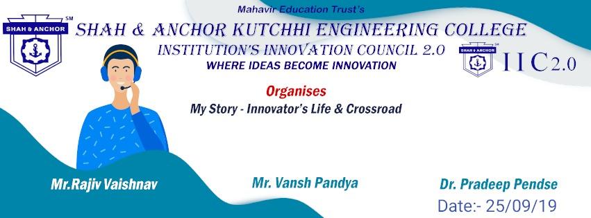 My Story - Innovator's Life & Crossroad