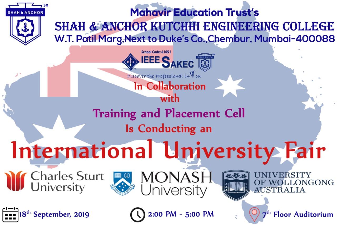 Internaltional University Fair