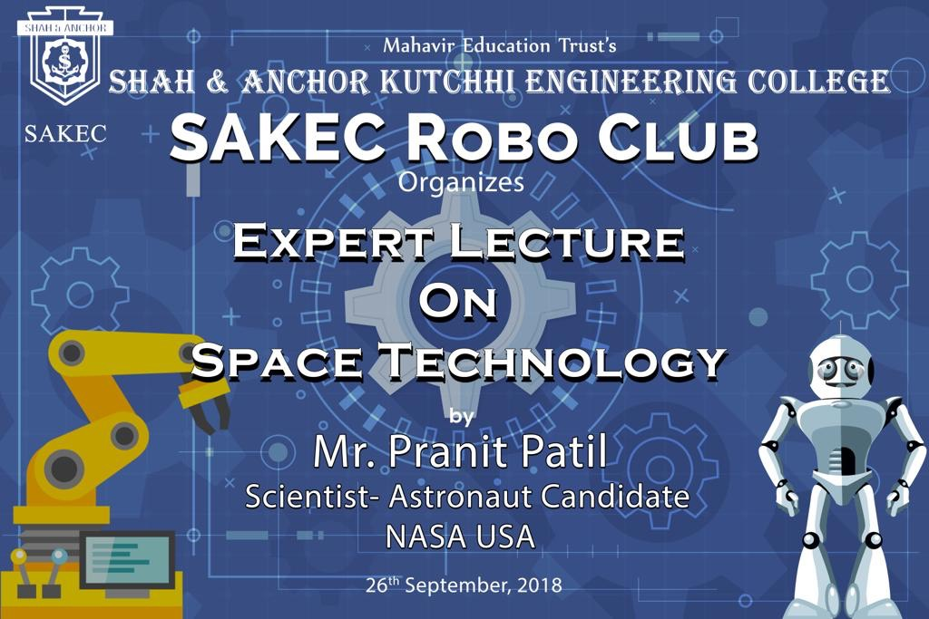 Expert Lecture on Space Technology