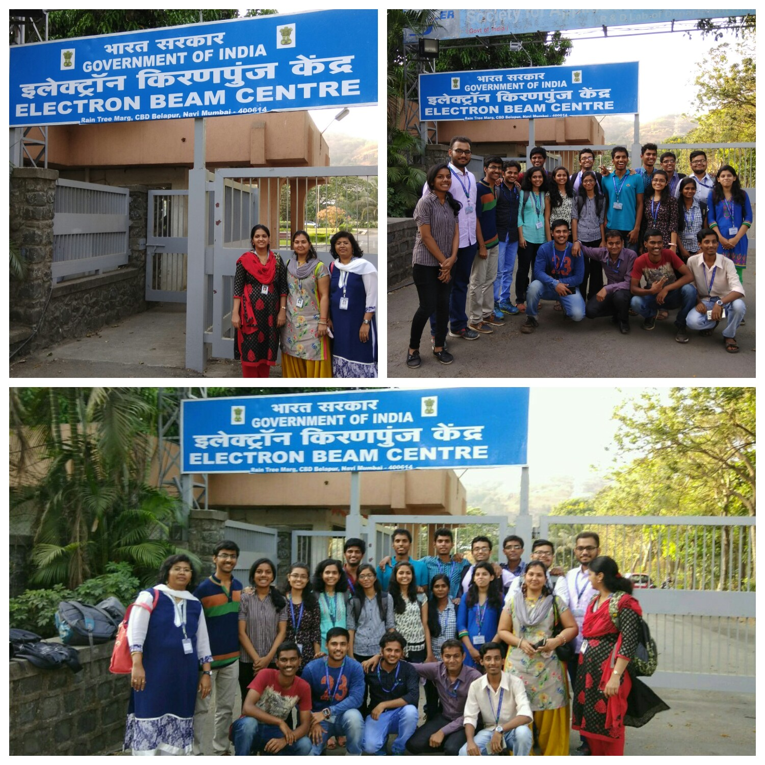 Industrial Visit to Electron Beam Centre, Kharghar