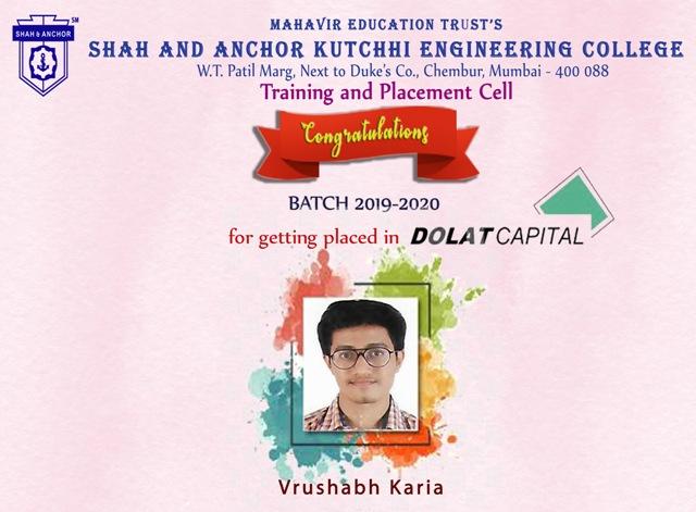 Dolat Capital Market Pvt. Ltd Placed Students