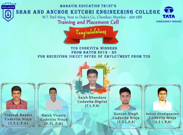 TCS Codevita Placed Students