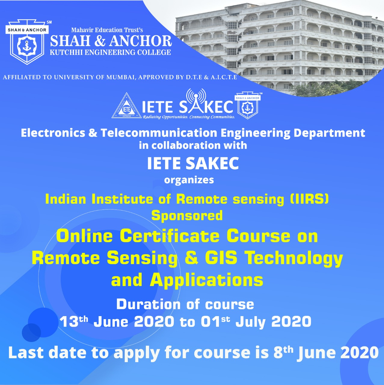 Online Certificate Course  on