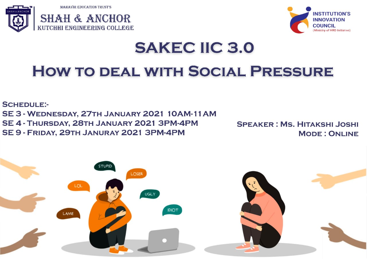 How to Deal with Social Pressure?