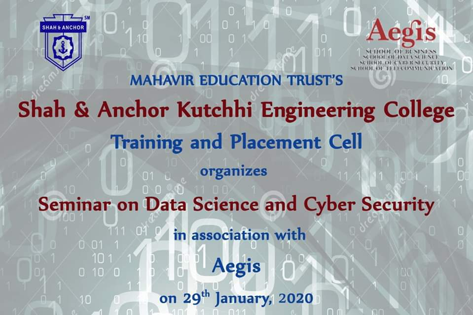 Seminar on Data science and Cyber Security