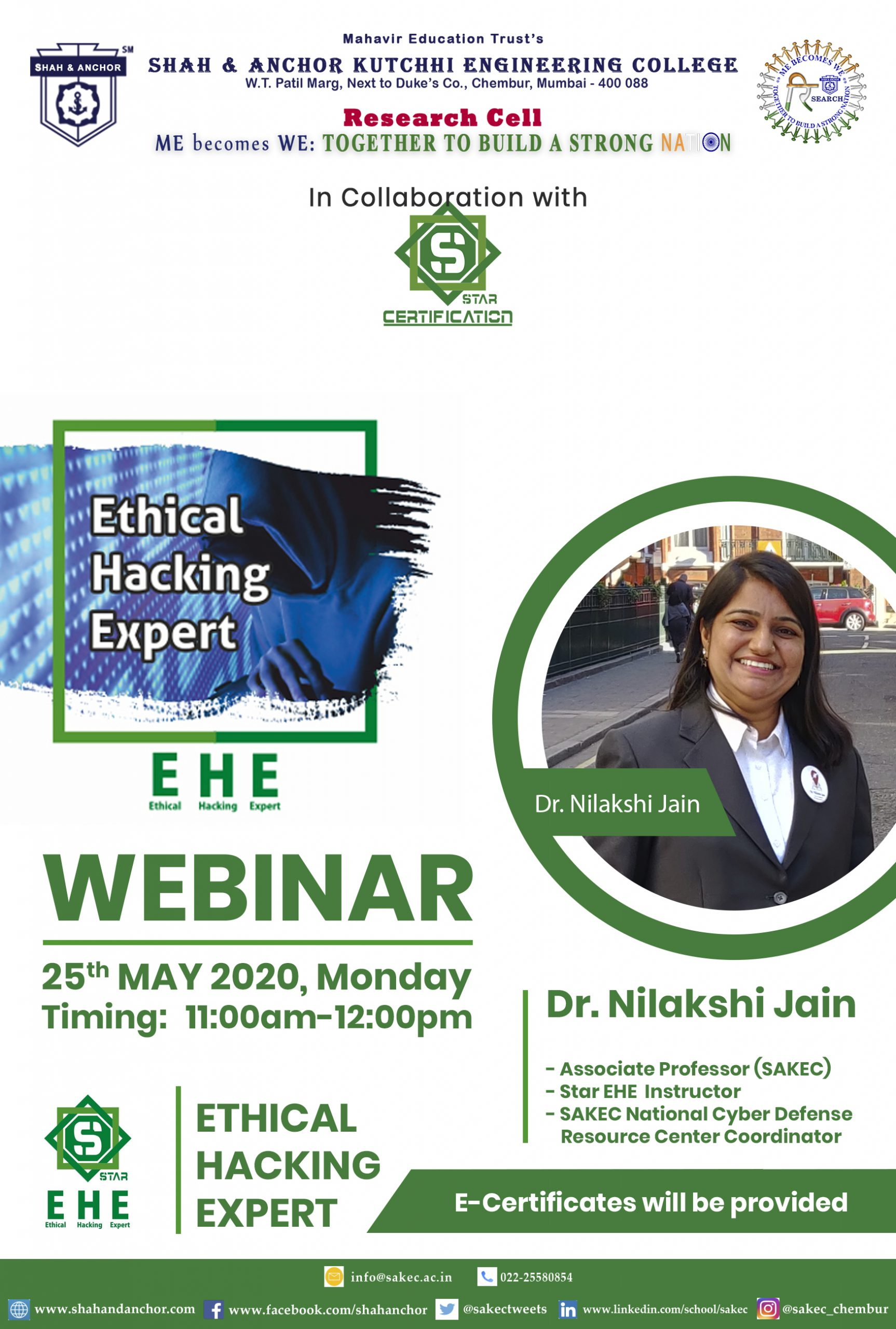 Free Webinar on Star Ethical Hacking Expert