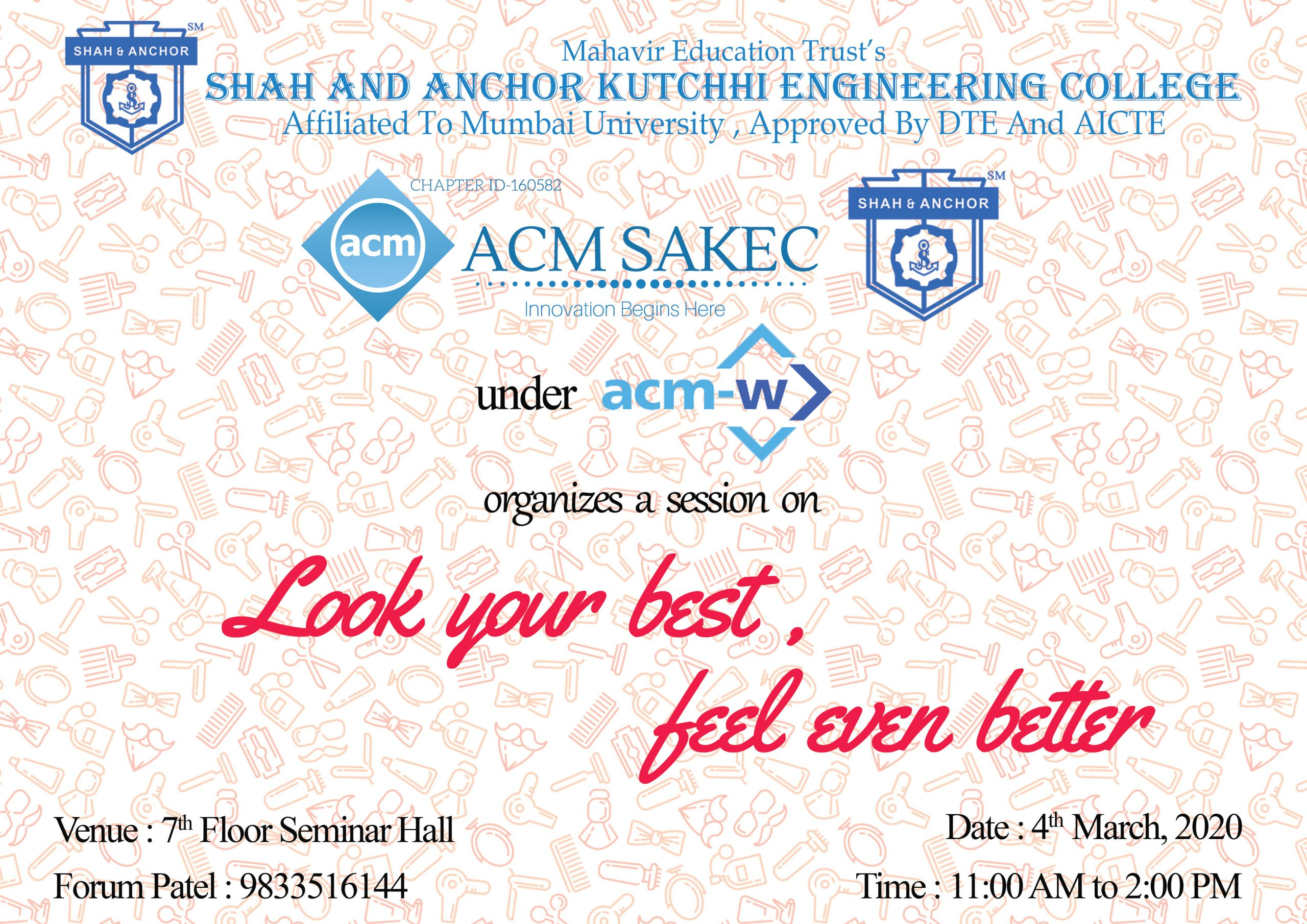 ACM W Grooming Session