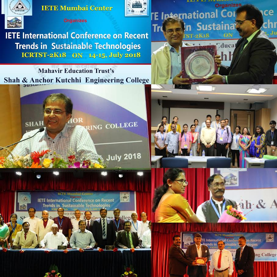 An international conference on Recent Trends in Sustainable Technologies (ICRTST-2K18)