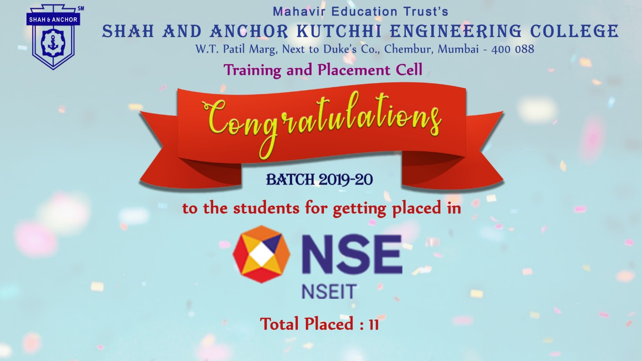 NSEIT Placed Students