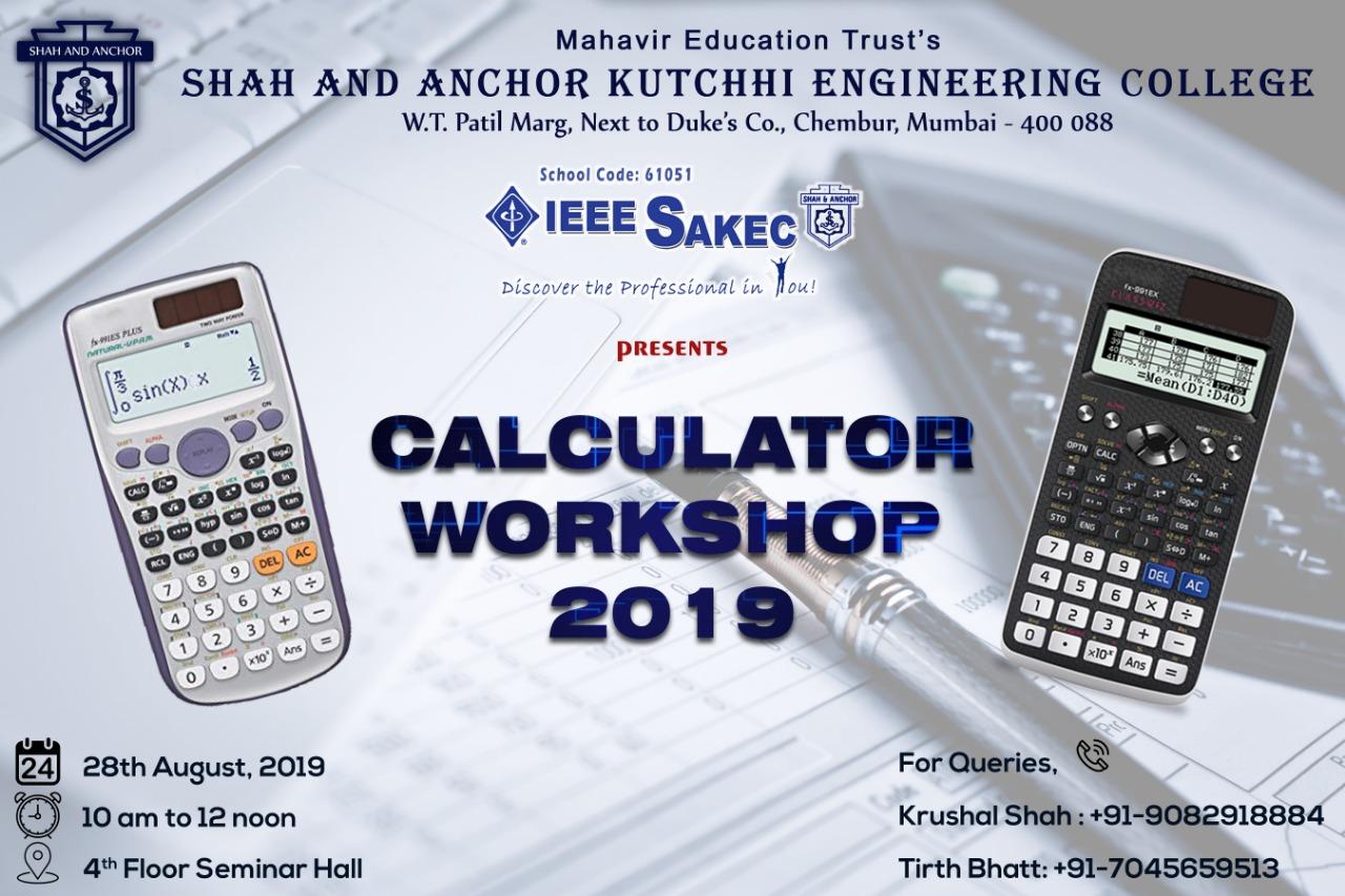 Use of Scientific Calculator