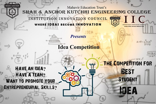Idea Competition by IIC SAKEC