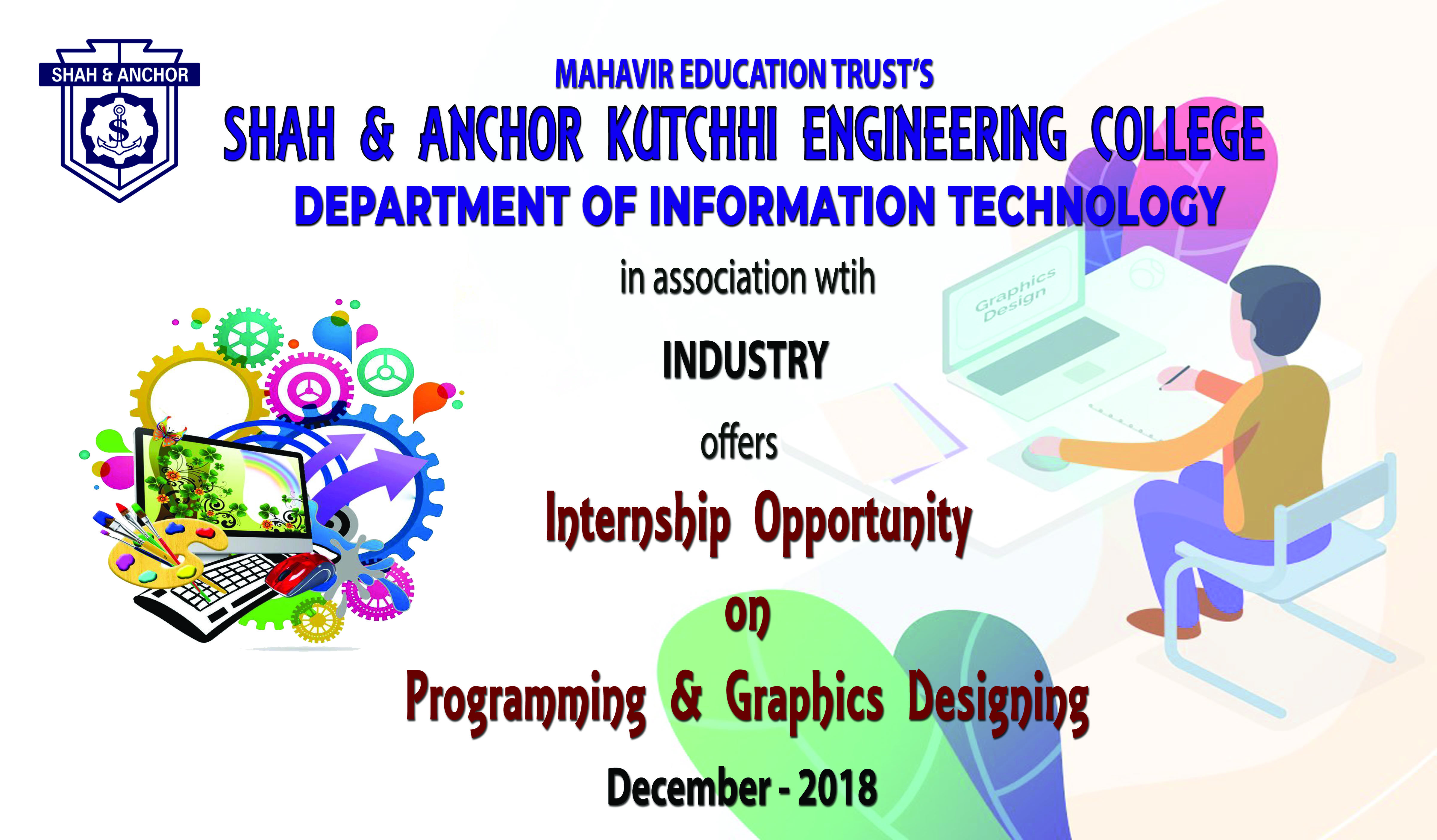 Internship program on Programming & Graphics Designing