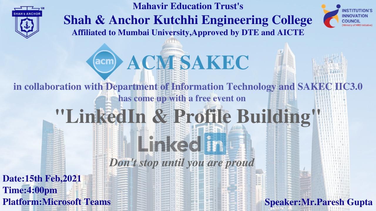 LinkedIn & Profile Building Workshop