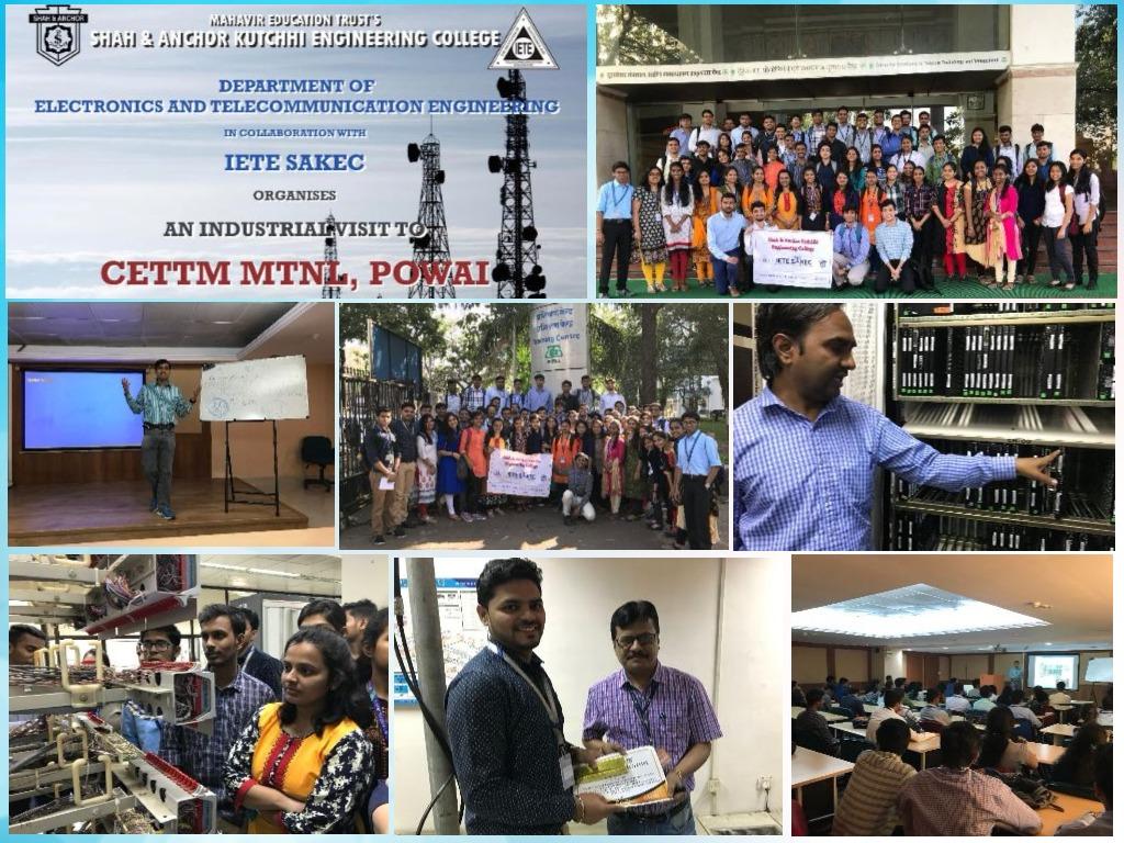 Industrial Visit to CETTM MTNL, Powai