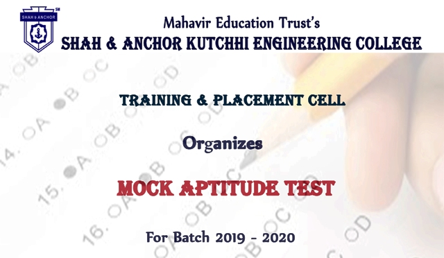 Mock Aptitude Test