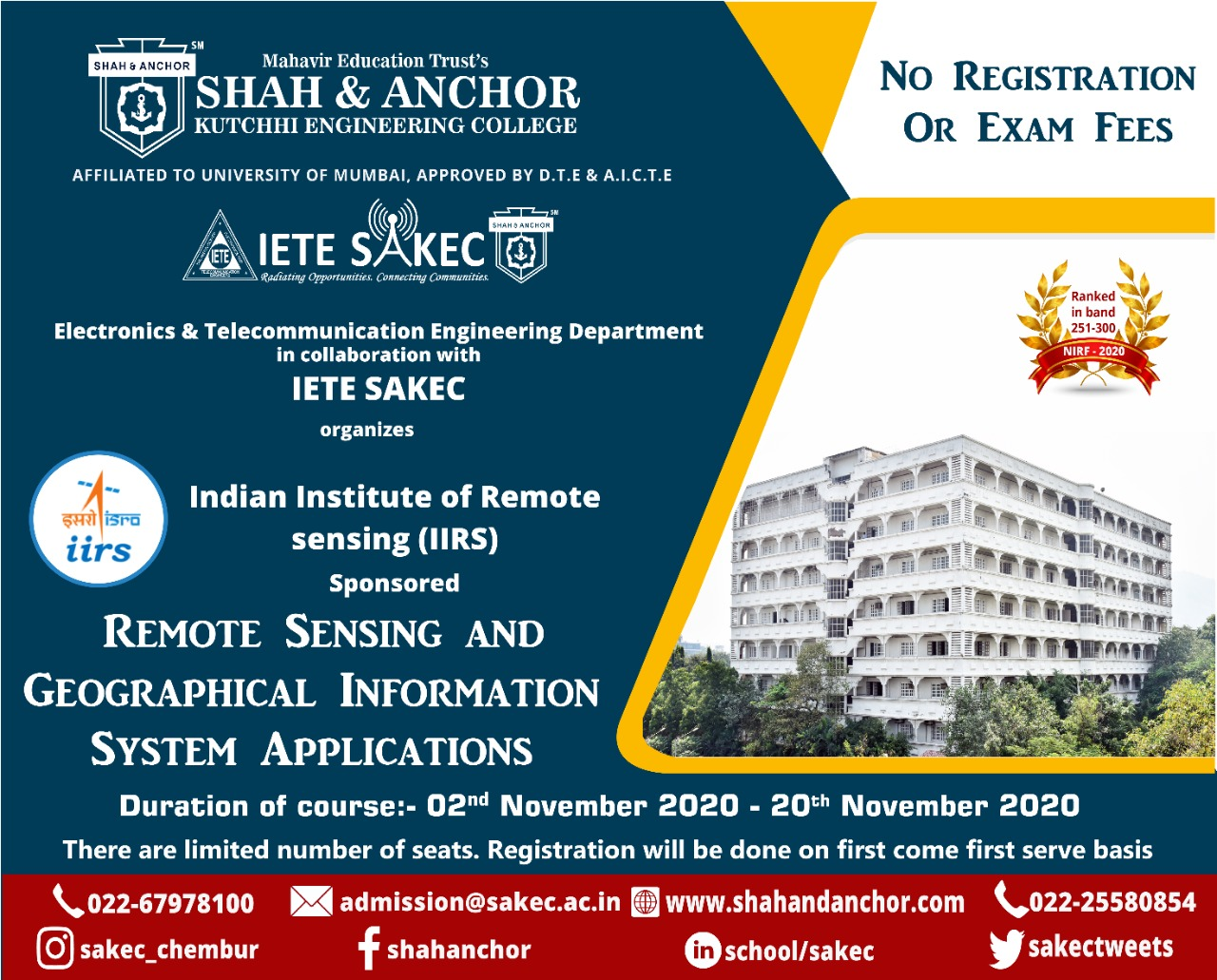 IIRS Outreach Programme