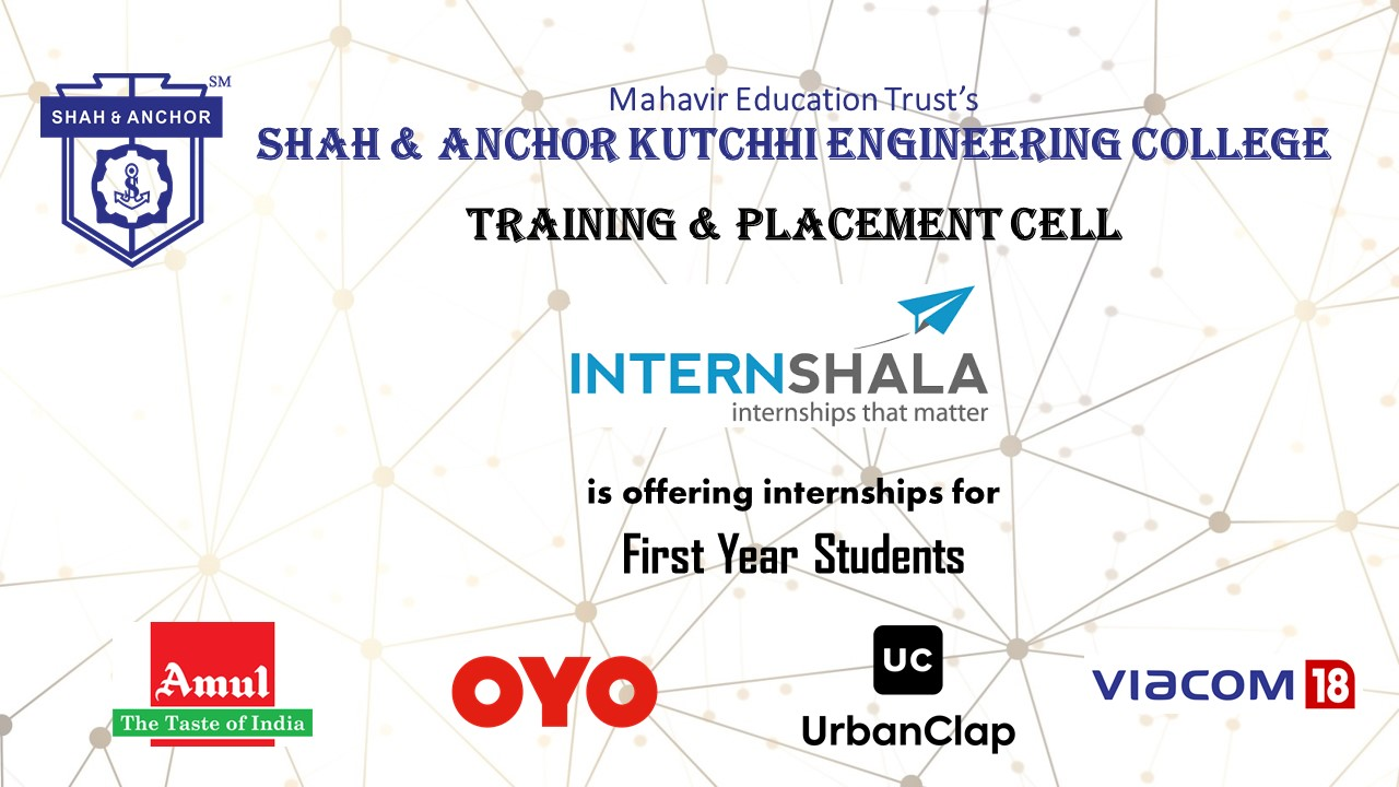 Internships for 1st-year students in reputed organisations by Internshala