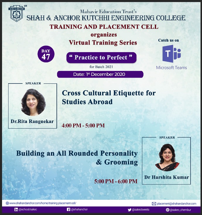 Webinar on Career Guidance Session