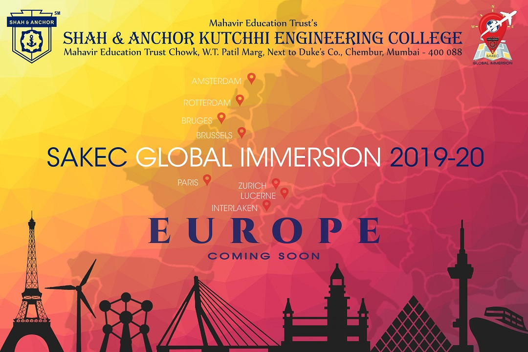 SAKEC Global Immersion 2019-20: EUROPE