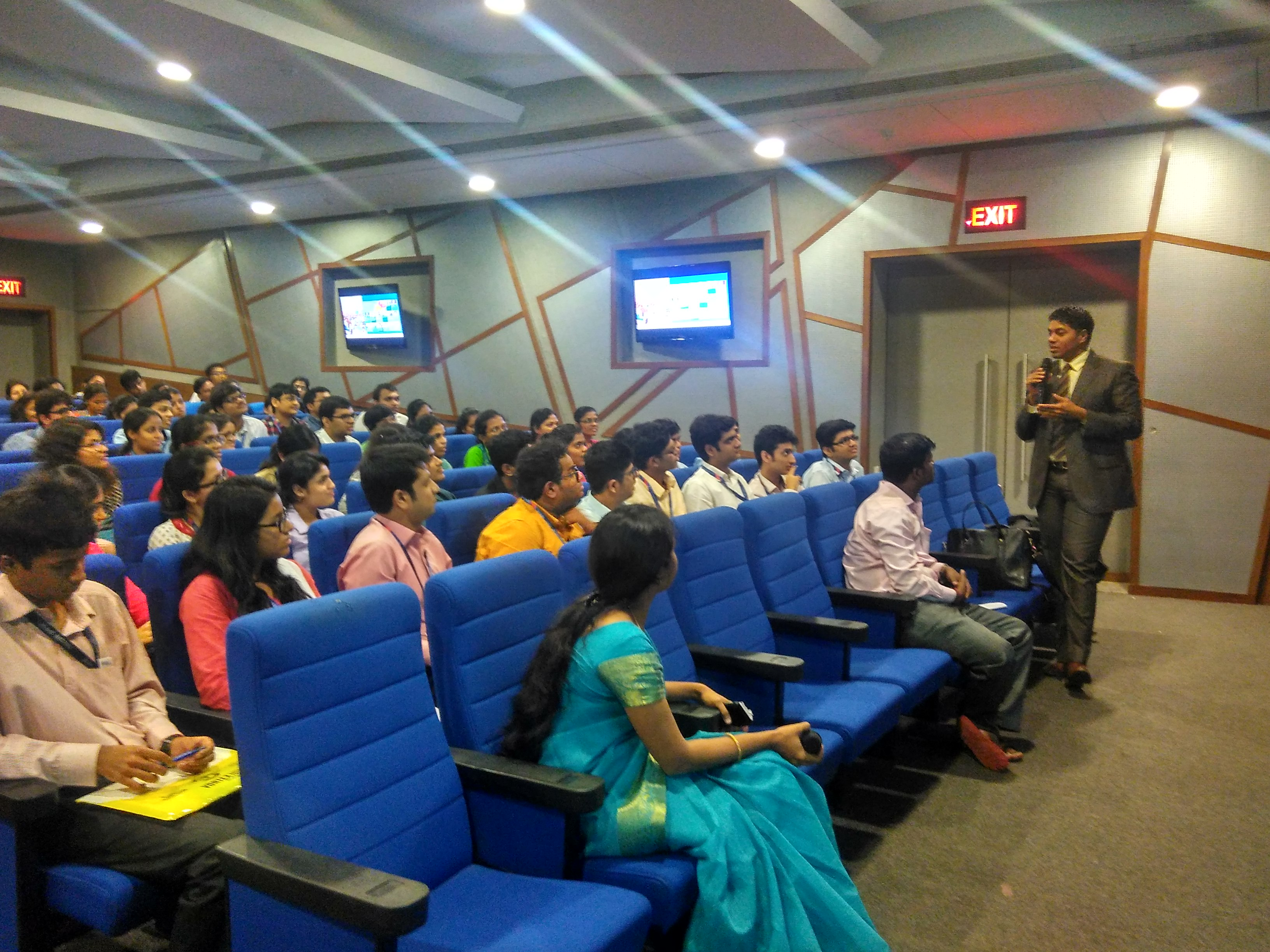 Awarness session by Capgemini