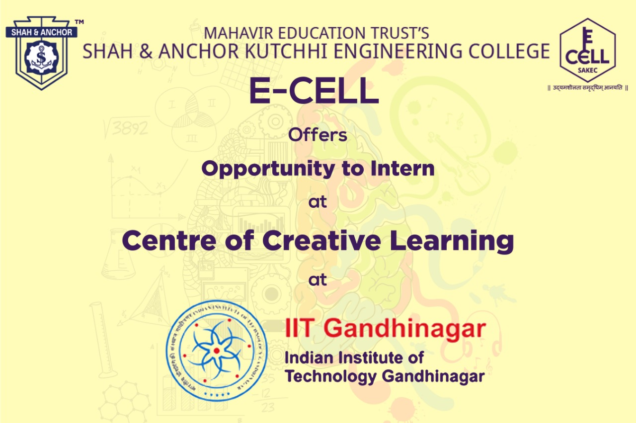 Internship opportunity at IIT, Gandhinagar.
