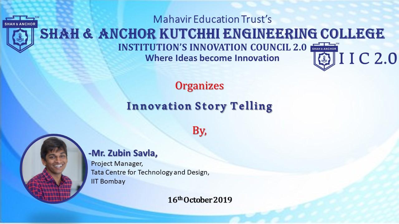 Innovation Story Telling