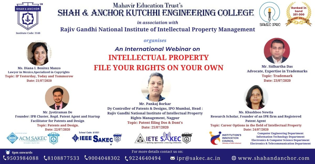 Intellectual Property: File your rights on your own