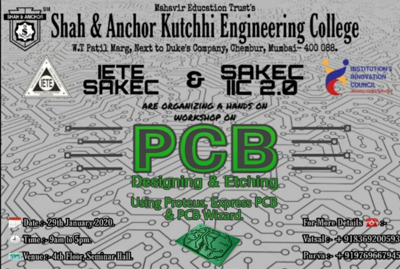 Workshop on PCB Designing