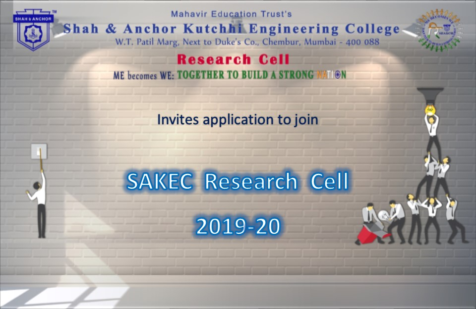 Invitation to join SAKEC Research Cell