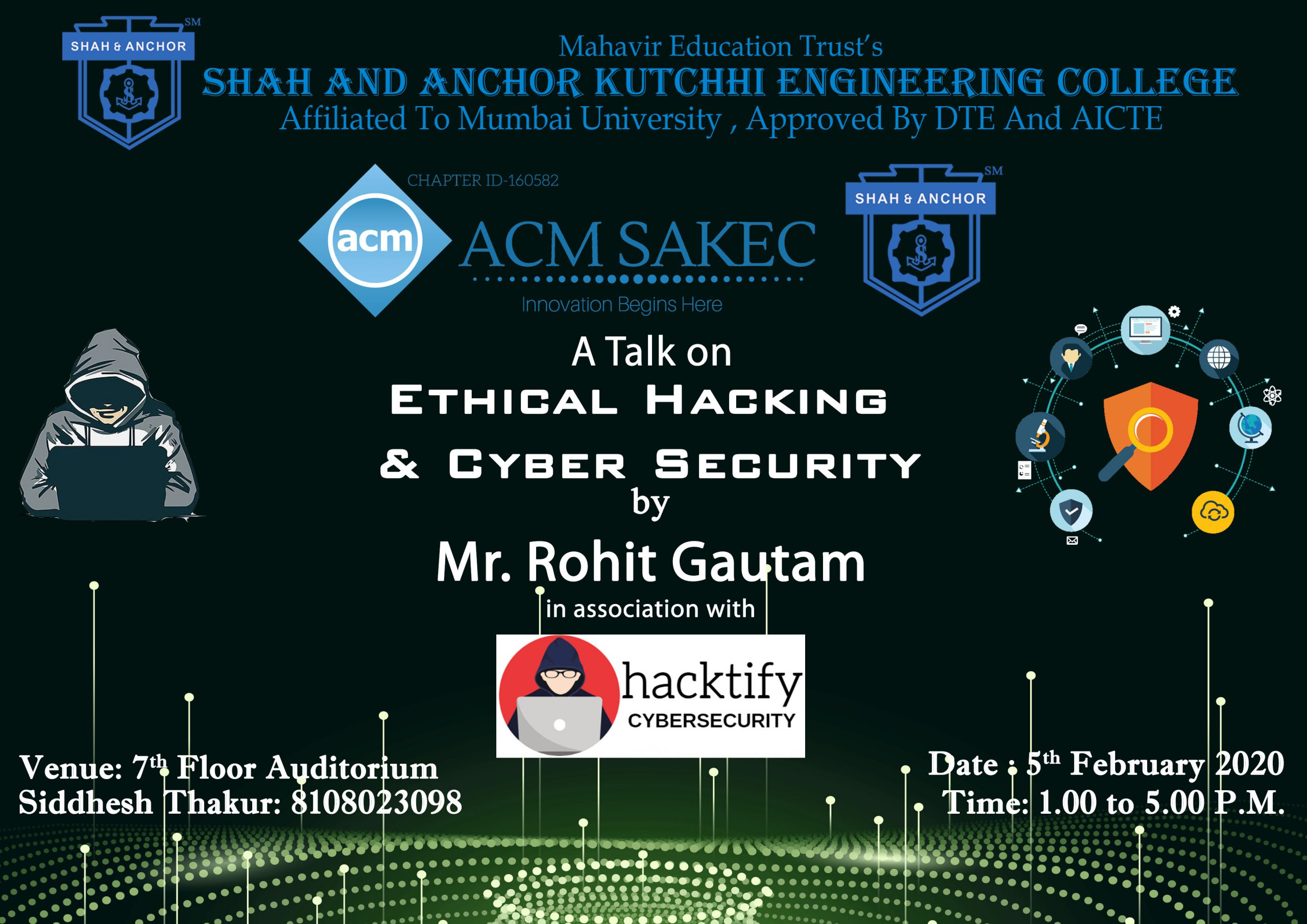 TALK on Ethical Hacking & Cyber Security