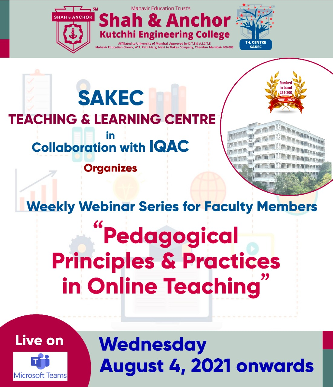 Pedagogical Principles & Practices in Online Teaching