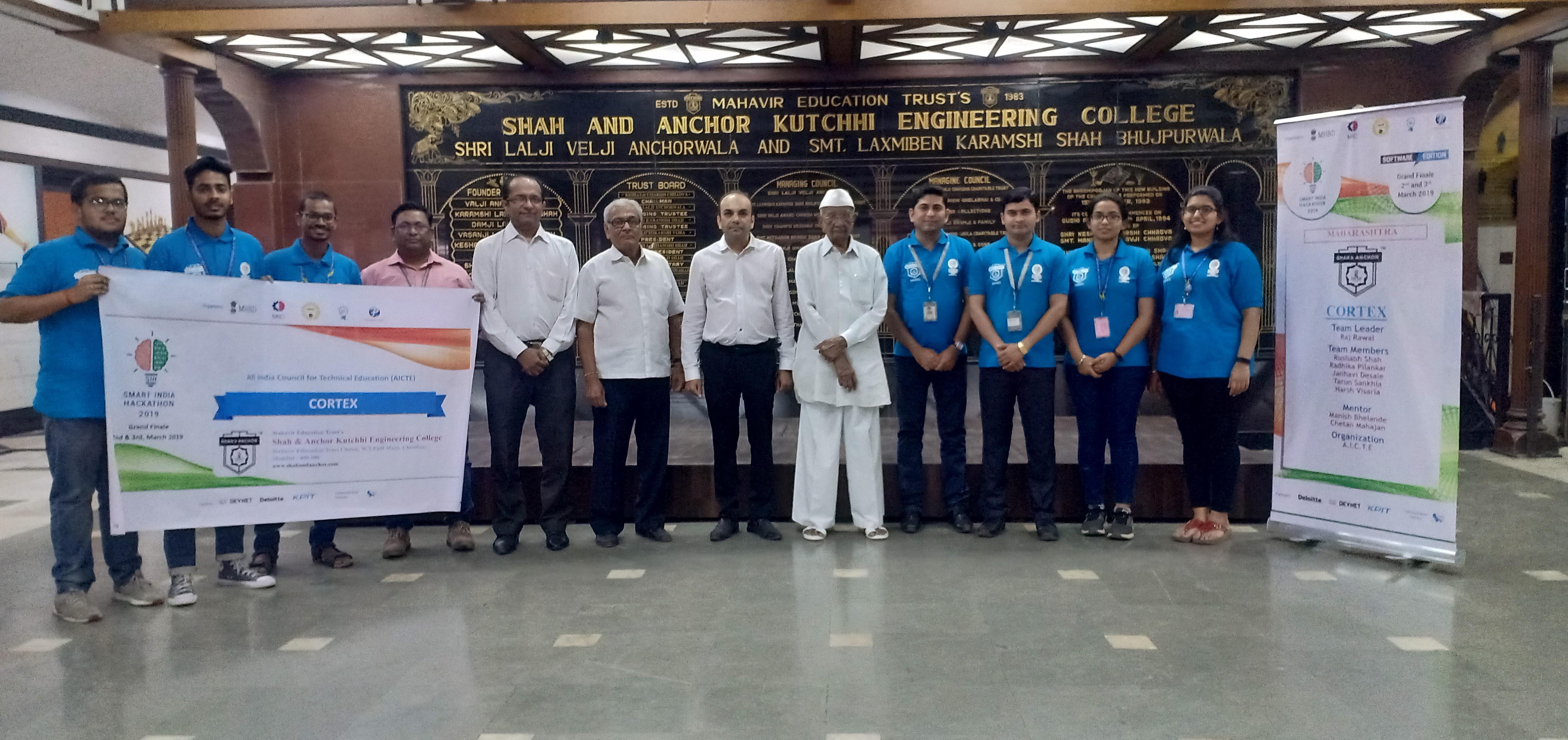 Smart India Hackathon 2019